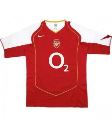 Arsenal Home Retro Jersey Mens First Soccer Sportwear Football Shirt 2004-2005