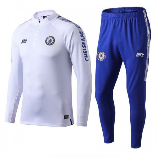 dcc5acd029 Chelsea White Tracksuit 2019/2020