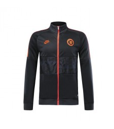 Chelsea Black Orange Training Jacket 2019-2020