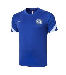Chelsea Blue Training Soccer Jerseys Mens Football Shirts 2020-2021
