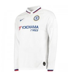 Chelsea Away Long Sleeves Jersey Mens  Football Shirt 2019-2020