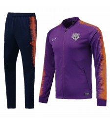 Machester City Purple Tracksuit 2018/2019