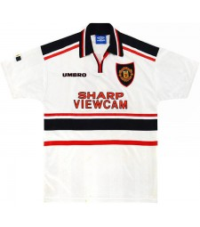 Manchester United Away Retro Soccer Jersey 1998-1999