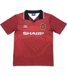 Manchester United Home Football Shirt Retro Mens Jersey 1994-1996