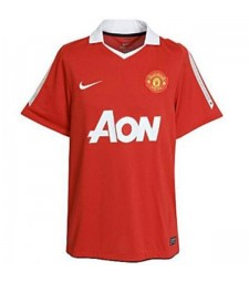 Manchester United Home Retro Soccer Jersey Maillot Match Mens Sportwear Football Shirt 2010-2011