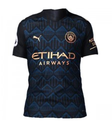 Manchester City Away Jersey  Match Mens Sportwear Football Shirt 2020-2021
