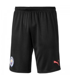 Manchester City Away Soccer Shorts Black 2019-2020
