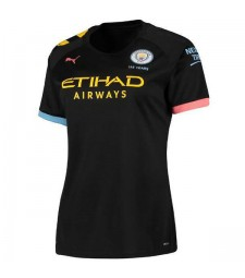 Manchester City Away Women Soccer Jersey 2019-2020
