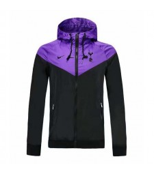 Tottenham Hotspur Black Purple Windbreaker 2019-2020