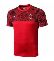 AC Milan Red Printing Training Shirt 2019-2020