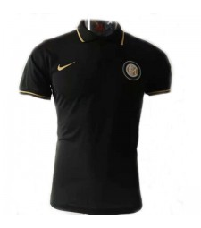Inter Milan Black Polo 2019