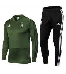Juventus Army Green Soccer Tracksuit 2018/2019