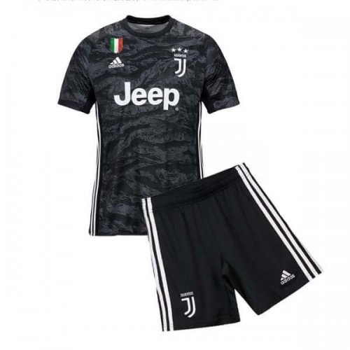 Juventus Home Goalkeeper Kids Football Kit 2019 2020