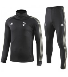 Juventus High-necked-Training Kit Black 2018-19
