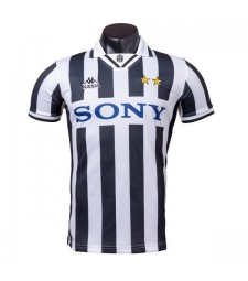 Juventus Home Retro Soccer Jersey Mens Football Shirt 1995-1996