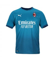 AC Milan Third Soccer Jerseys Mens Football Shirts Uniforms 2020-2021